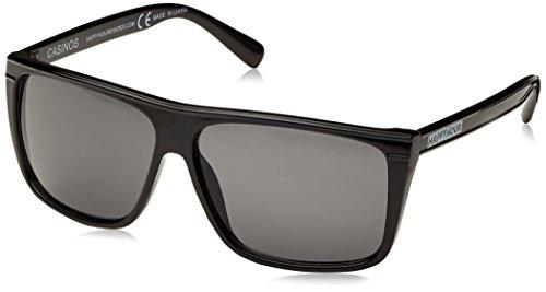 HAPPY hOUR hapglablamam glasses casinos sza taille unique Noir - Black Gloss