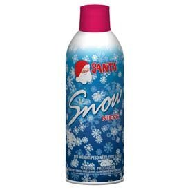 Santa Snow Spray Christmas Artificial Can 9 Oz Aerosol Decoration Tree Holiday Winter Fake Crafts Winter Party Snow Spray Christmas Artificial Santa Can 9 Oz Aerosol Decoration Tree Holiday Winter Fake Crafts Winter Party (Santa Snow)