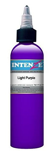 (Intenze Tattoo Ink - Light Purple - 1oz)