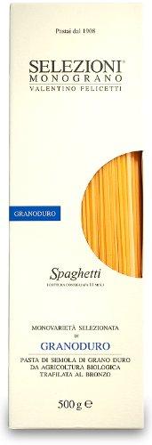 Monograno Felicetti - Italian Dried Spaghetti Matt - 17.6oz (500g) - Dried Pasta