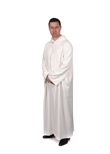 Graduation Attire Servers Cassock ALB (Sized by Length in inches) (62'') by Graduation Attire