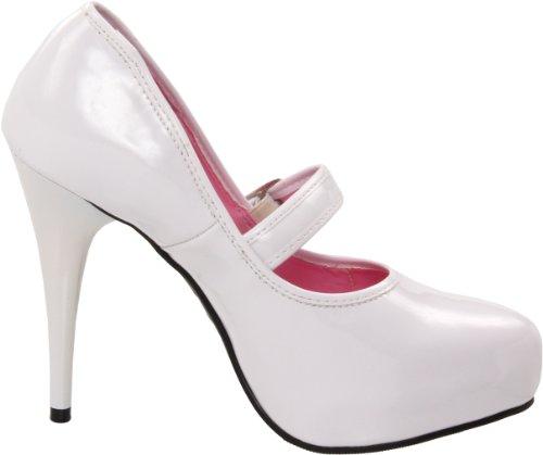 mujer ladyjane de 469 la Ellie Blanco Zapatos Bomba FqY7EESw