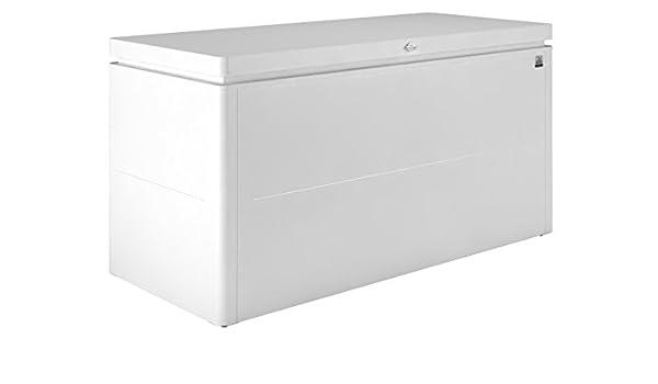 BIOHORT - Arcon Metalico Biohort Lounge Box Cofre- Baul De Jardin: Amazon.es: Jardín