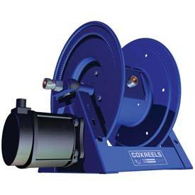 Motorized Reels (Coxreels 1125PCL-8M-E HD Motorized Power Cord Reel: 250'/12 Ga & 200'/10 Ga Cap,45A w/12V DC Motor)