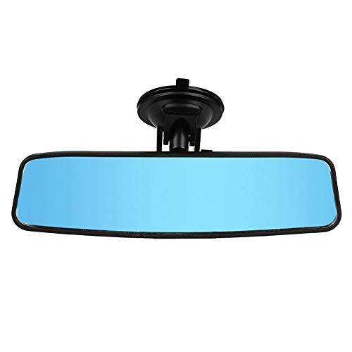 sourcingmap Silver Tone Angle Adjustable Car Rearview Blind Spot Mirror 95mm Dia