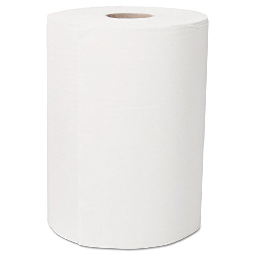 - Kleenex 43753 Ultra Soft Slimroll Hard Roll Towel, 2-Ply, 7.87 x 262 ft, White (Case of 6)
