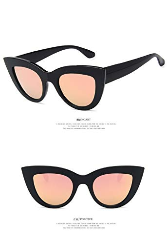 UV400 Sol Gafas Vintage Lente Espejo Unisex C8 Polarizadas Eye Súper Hombre Gafas de Cat Gafas Retro Ligero Fliegend Mujer de Sol wxAqZ7I1Ap