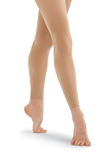 Balera Adult Footless Dance Tights Dance Footless Tights