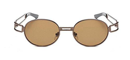 cercle Léger de style soleil inspirées rond en métallique retro vintage Lennon polarisées lunettes du Thé gwvUW6qv4