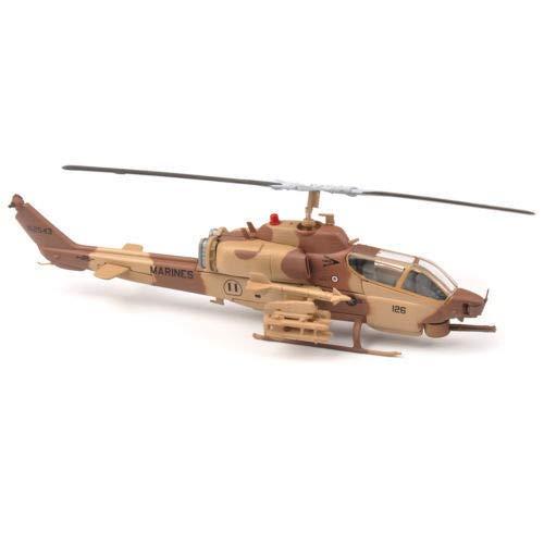 FidgetKute 1/72 IXO Marines AH-1W Super Cobra Camo Helicopter Airplane Model Collection