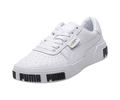 Puma Damen Cali Bold WN's' Sneaker, White-Metallic Gold 01, 38 EU 1