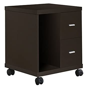 Amazon Com Monarch Specialties 2 Drawer Computer Stand On