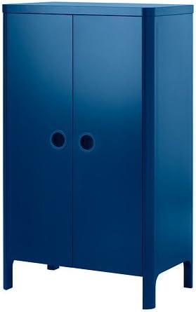 Ikea BUSUNGE - Armario, Medio Azul - 80x139 cm: Amazon.es: Hogar