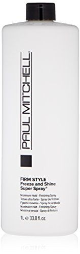 Freeze Super Hold Spray - Paul Mitchell Freeze and Shine Super Finishing Spray Refill for Unisex, 33.8 oz