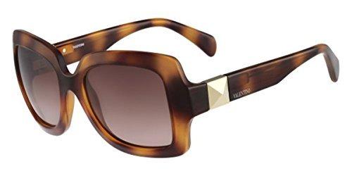 Valentino Women's Sunglasses, Havana, 54-20-135
