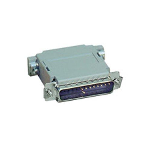 Black Box Null Modem Adapter DB25 M/F Pinning B