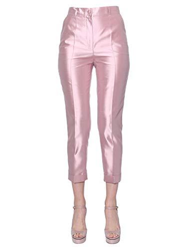 - Dolce e Gabbana Women's Ftbdatfu1l5f2528 Pink Silk Pants