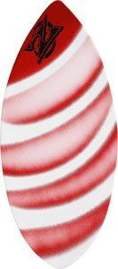 Zap Wedge Large Skimboard - 49x19.75 Assorted Red