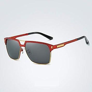 MXNET Tendencia UV400 Protección Conducción Retro Personalidad Larga Cara  Grande Cara Grande Cara Redonda Gafas de Sol Polarizadas para Hombres  Mujeres ... 278df54b7e62