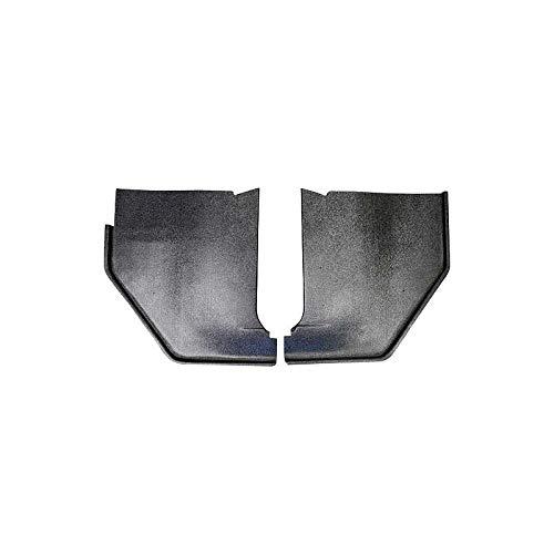 65 Fairlane Black Paintable Injection Molded ABS Plastic Kick Panels MACs Auto Parts 42-34680