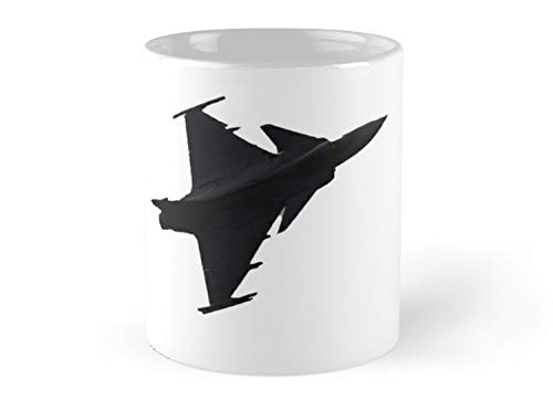 Light single-engine multirole fighter aircraft manufactured 11oz Mug - Features wraparound prints - Great gift for family and friends