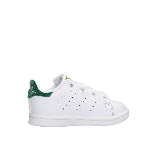 Unisex Smith Stan Ftwbla Veruni i Bianco Bimbi Ftwbla adidas Sneaker qvPIwgxUI