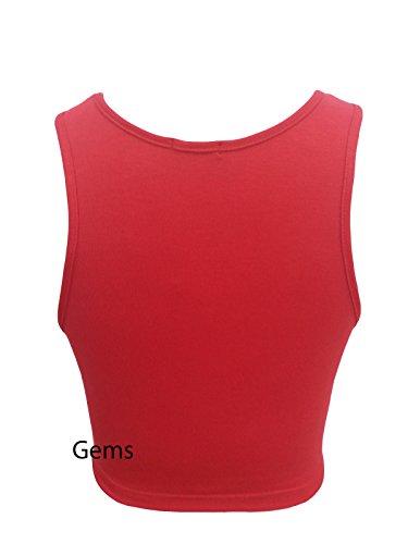 Generic - T-shirt - Femme Orange Orange M/L