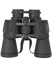 20x50 High Power Outdoor Binoculars, Compact HD Professional/Daily Waterproof Binoculars Telescope for Adults Bird Watching Travel Hunting Football (Black)
