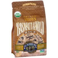 Lundberg Organic Brown Basmati and Wild Rice, 1 Pound - 6 per case.