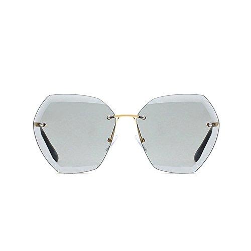 Óptica TIANLIANG04 Reborde Gradient Oro De Gafas C4 Azul De Sol Gafas Elegante Femme Gray Sol Gold De Sin Mujer Lunetas Lady Black C7 PPdrvw