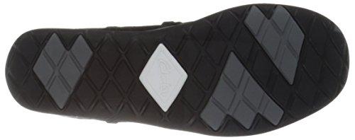 Clarks Frauen Mode Sneaker Sort Læder O5kWU0wo