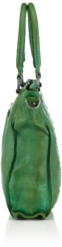 Taschendieb TD 002 11 - Bolso con asas Mujer Gris (Grau)