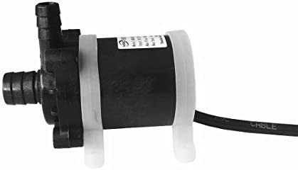 QinKingstore DC 12V 24Wの専門のブラシレスモーター水循環の水ポンプの浸水許容の水ポンプの低雑音