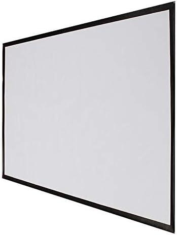Projector Screen - Pantalla para proyector (84 Pulgadas, 16:9, 186 ...