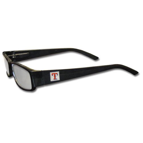 Siskiyou MLB Black Reading Glasses, 2.50, Texas (Texas Rangers Glass)