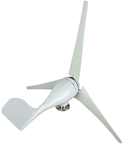 Windturbine 100W / 200W / 300W / 400W Watt Wind Turbine Generator DC 12V / 24V Wind-Turbine-Generator Kit 3 Blades für Heim, Gewerbe, Industrie Energie Supplementation Windgenerator Windturbine,200w