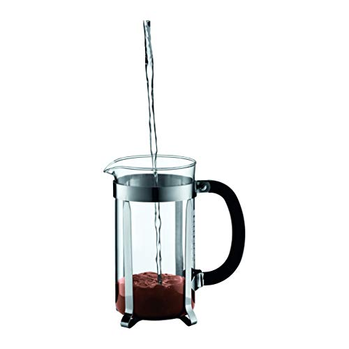 bodum chambord french press coffee maker 1 liter 34 ounce 8 cup chrome buy online in ksa. Black Bedroom Furniture Sets. Home Design Ideas