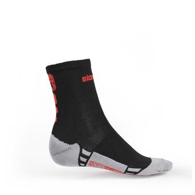 Giordana FR-C Short Cuff Socks Black/Red, L - Men