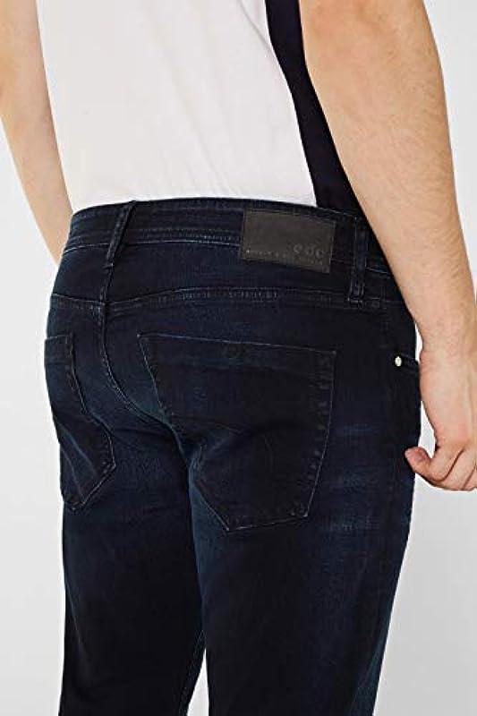 edc by Esprit męskie dżinsy (109cc2b001), kolor: Niebieski (Blue Dark Wash 901) , rozmiar: 30W / 30L: Odzież