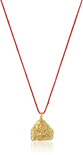 Dogeared gold make a wish happy buddha red necklace 16 my dharma prev mozeypictures Images