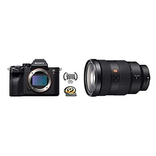 Sony Alpha 7R IV Full-Frame Mirrorless Interchangeable Lens Camera (ILCE7RM4/B) with Sony SEL2470GM E-Mount Camera Lens: FE 24-70 mm F2.8 G Master Full Frame Standard Zoom Lens