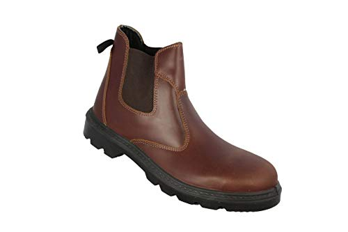 Brown Bauschuhe Gorro De Zapatos Aimont Seguridad Alta S3 Lithuany qv8Rw8