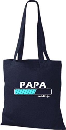 Marino Algodón Tela Mujer Para De Bolso Shirtstown Azul q0wt7ZwH