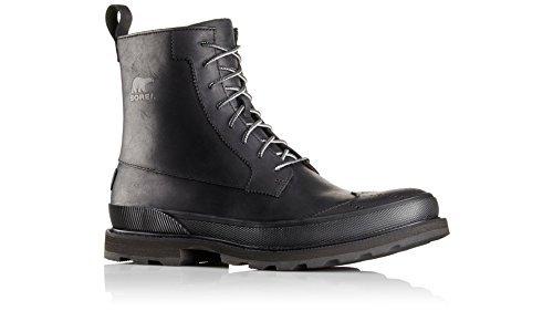 SOREL Mens Madson Wingtip Boot (10.5 D(M) US, Black)
