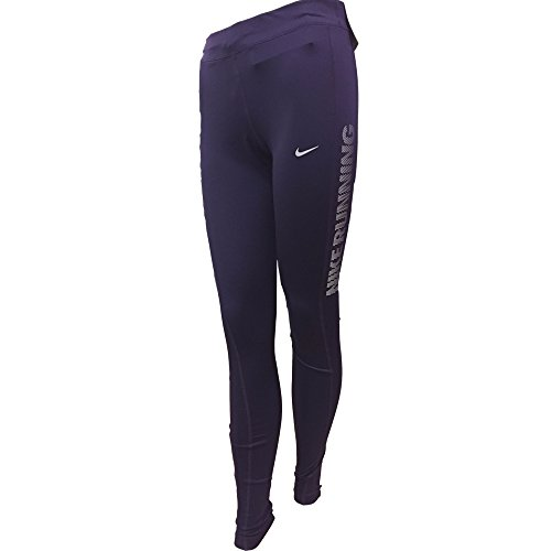 Nike Essential Running Tight Womens Leggings Pants (Purple, Small)