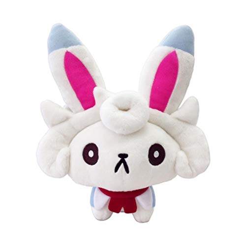 Mikucos Fate/Grand Order Cath Palug FGO Fou Plush Soft Toys Hold Pillow Cosplay Doll ()