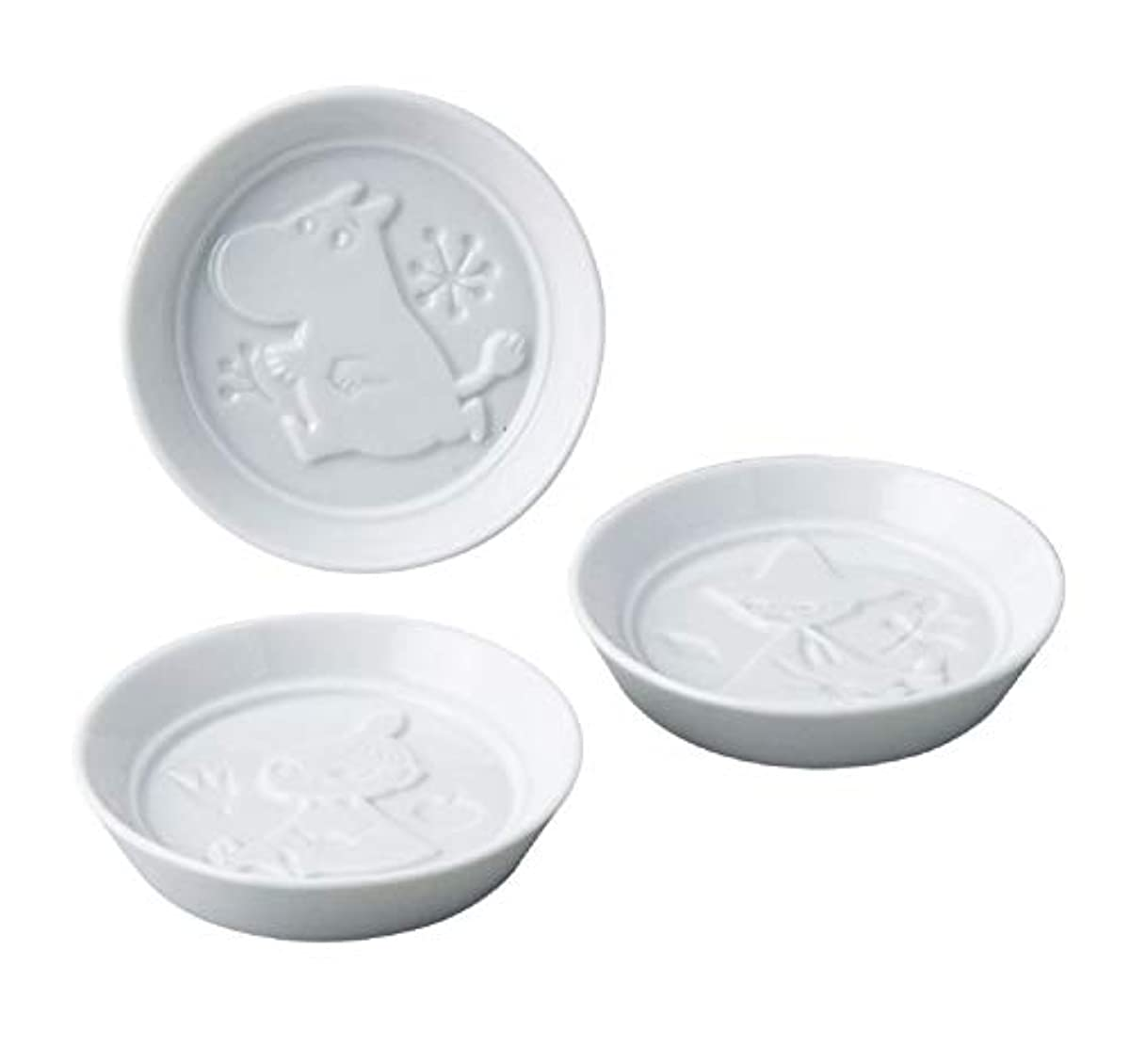 [해외] 무민 간장종지 소스 접시 세트 3P