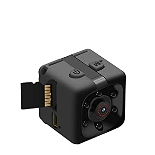 Mini Spy Camera with Audio and Video - 1080P Hidden Camera - Portable Small HD Nanny Cam - Mini Spy Cams with Night Vision and Motion Detection Indoor Outdoor Tiny Security Cameras for Home Office