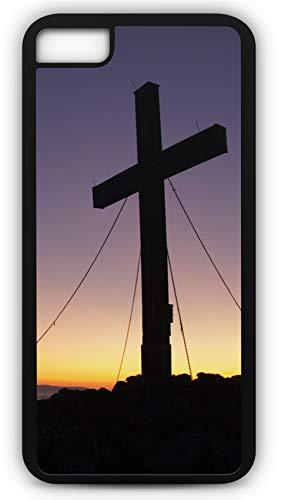 - iPhone 7 Case Summit Cross Peak Happiness Hochlantsch Mountain Customizable by TYD Designs in Black Plastic Black Rubber Tough Case