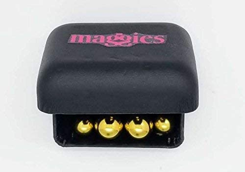 Two Sizes give Maximum Gold Powered Strength.Storage Box. MAGGIES Power Magnetic Balls Fabric Fastening for Thick and Heavy Fabrics Mixing The 2 Sizes adjusts The Holding Power